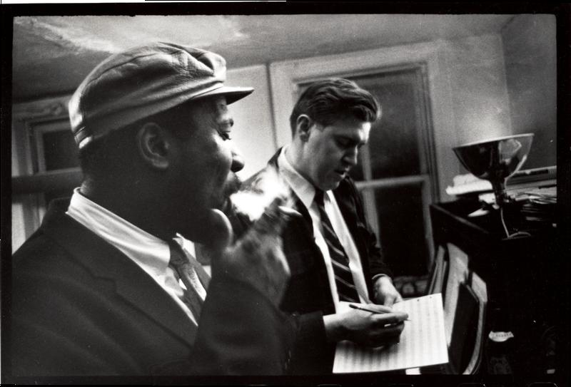 W. Eugene Smith, [Thelonious Monk and Hall Overton], 1959.