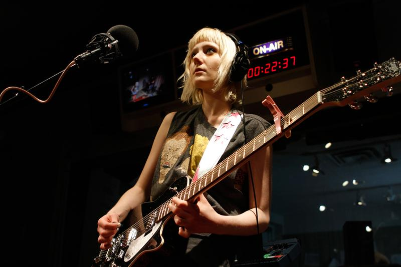 Jessica Lea Mayfield performs in the Soundcheck studio.
