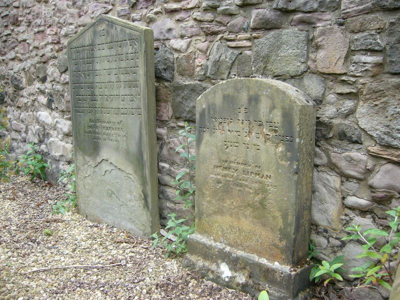 The old Jewish Burial Ground at Sciennes
