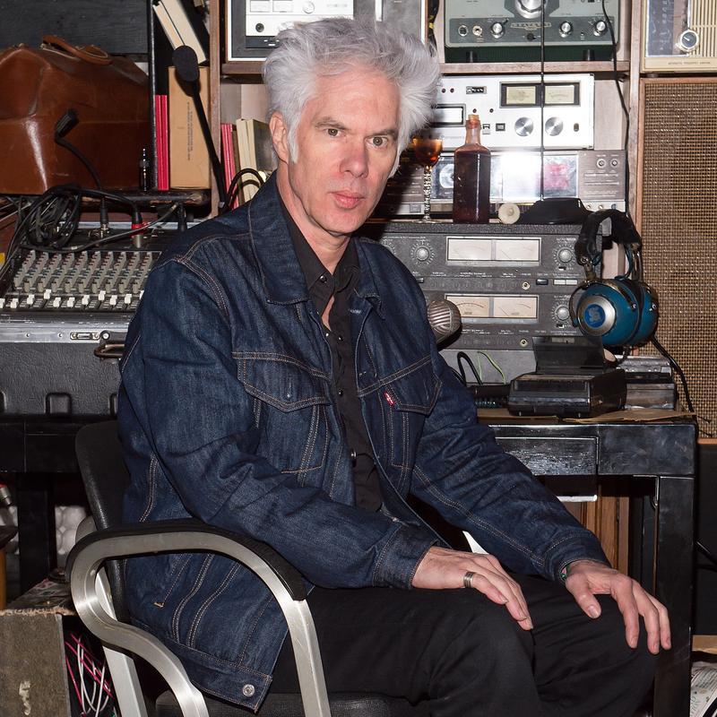 Filmmaker and musician Jim Jarmusch at the 'Only Lovers Left Alive' screening concert in New York on April 1, 2014.