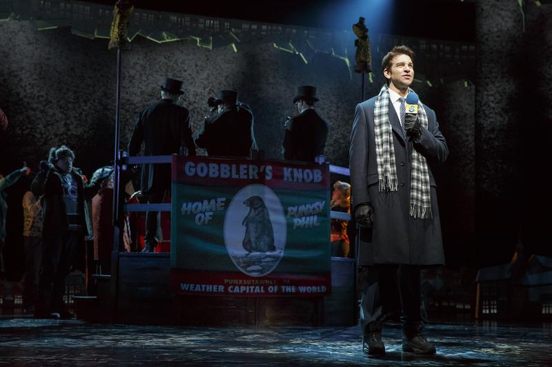 """Andy Karl stars as Phil Connors in """"Groundhog Day."""""""