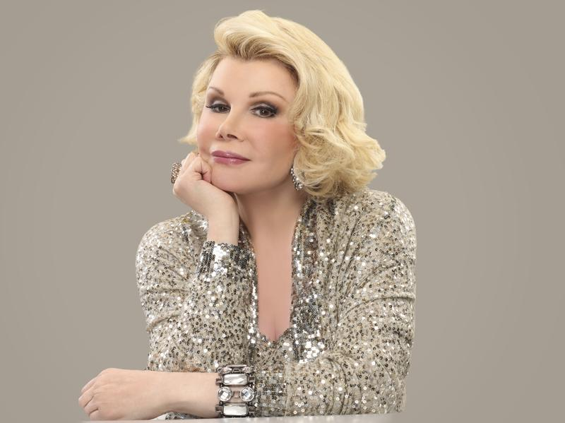 Comedian Joan Rivers has been a staple on television, from stand-up to the Tonight Show to her various reality shows to her distinctive red carpet fashion coverage.