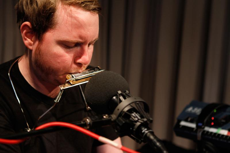 John Fullbright performs in the Soundcheck studio.
