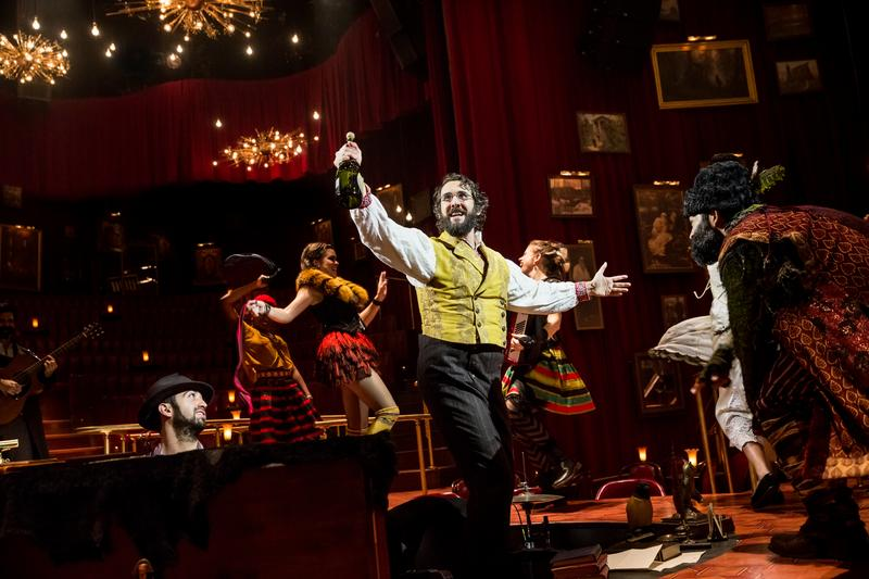 "Josh Groban and the cast of ""Natasha, Pierre and the Great Comet of 1812."""