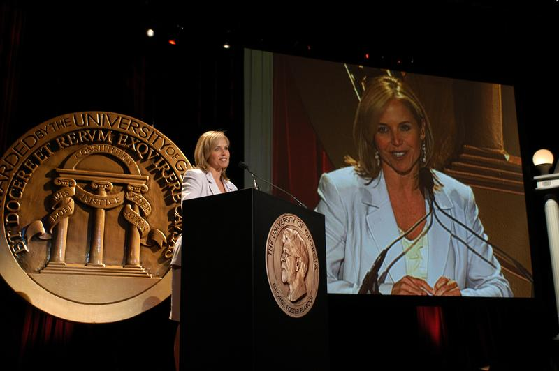 Katie Couric hosting the 63rd Annual Peabody Awards Luncheon at the Waldorf Astoria Hotel.