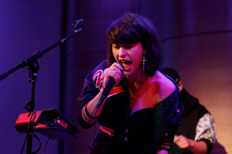 Kimbra performs on Soundcheck in the Greene Space at WNYC.