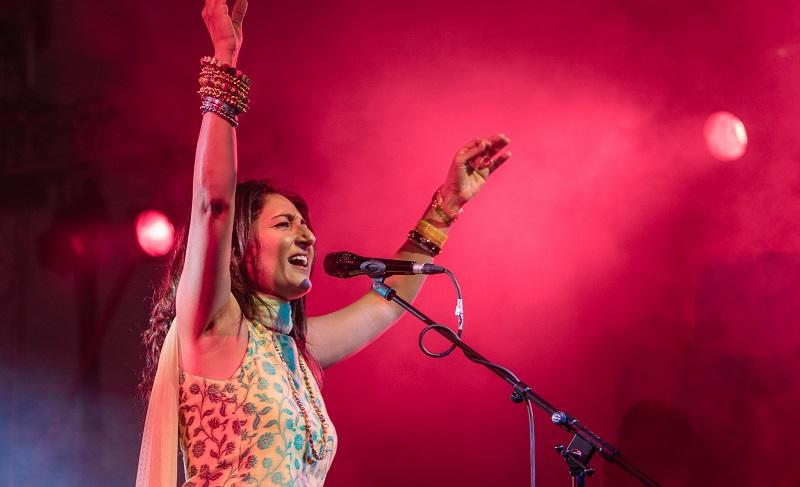 """Kiran Ahluwalia performs songs from her new album """"Sanata Stillness"""" live in our studio."""