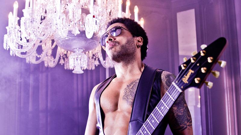 Lenny Kravitz's new album, Strut, is out now.