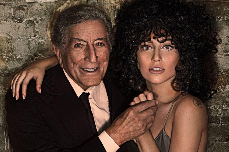 Tony Bennett and Lady Gaga's album 'Cheek To Cheek' debuted at No. 1.