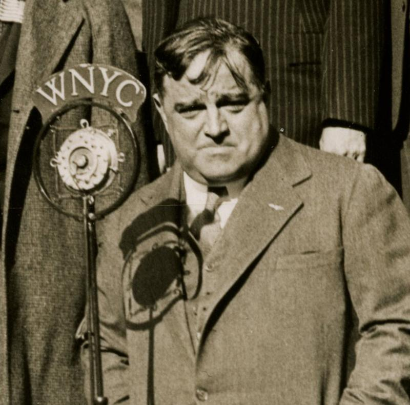 Mayor F. H. La Guardia at City Hall in the 1930s.