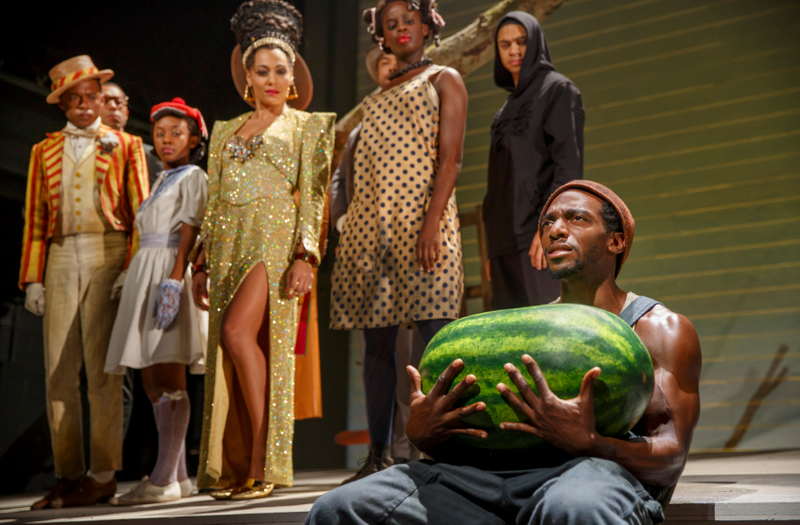 """The cast of """"The Last Black Man in the Whole Entire World AKA The Negro Book of the Dead"""""""