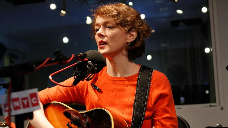Laura Cantrell performs in the Soundcheck studio.