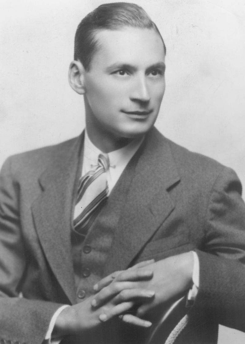 Conductor Leon Barzin in the 1930s