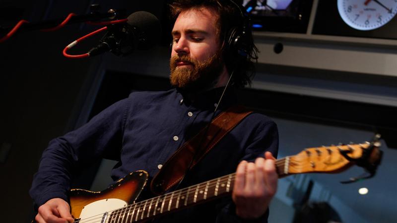 Liam Finn performs in the Soundcheck studio.