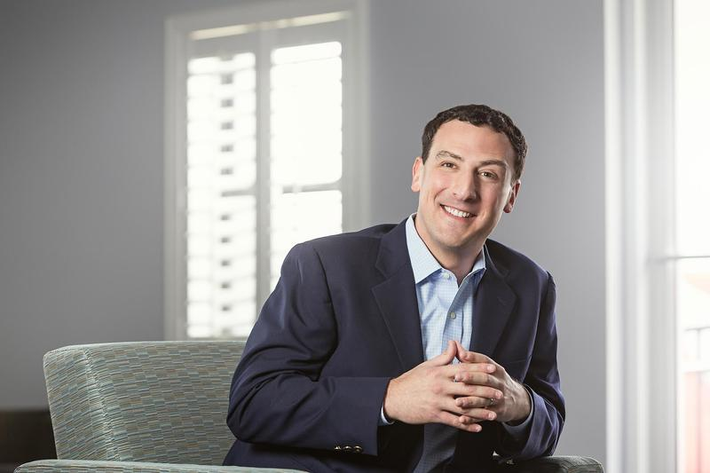 Isaac Lidsky is the author of a new book that details his experiences becoming a successful lawyer and tech entrepreneur as he was going blind.