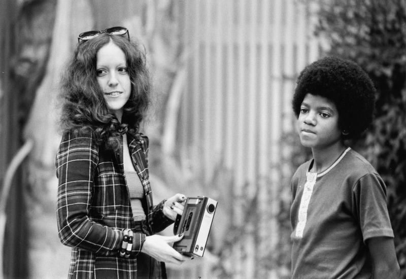 Lisa Robinson interviews Michael Jackson at his family's house in Encino, Calif., in Oct. 1972.