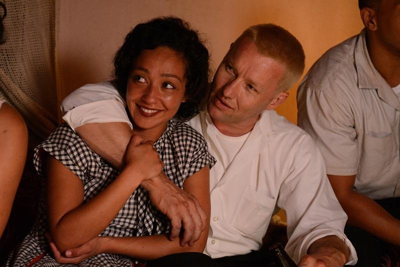 Ruth Negga (left) stars as Mildred and Joel Edgerton  (right) stars as Richard in Jeff Nichols LOVING, a Focus Features release.