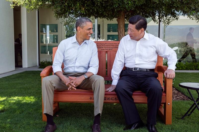 President Barack Obama, shown here in 2013 with Chinese President Xi Jinping, was the first American president since normalization to openly express exasperation with China.