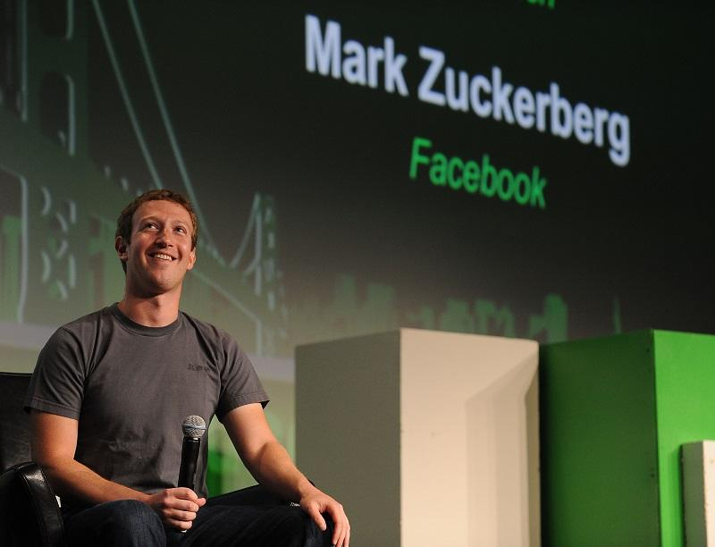 Facebook Founder and CEO Mark Zuckerberg speaks during the TechCrunch Conference at SF Design Center on September 11, 2012 in San Francisco, California.