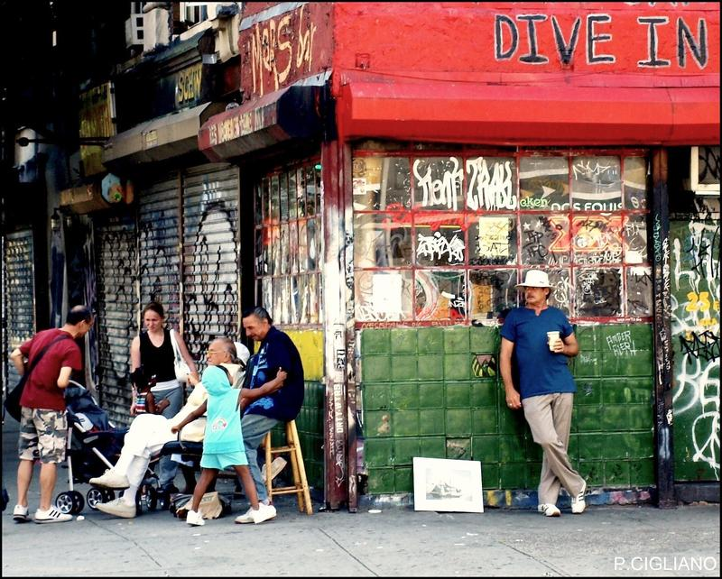 The now-closed Mars Bar, on the corner of E. 1st Street and Second Avenue in Manhattan.