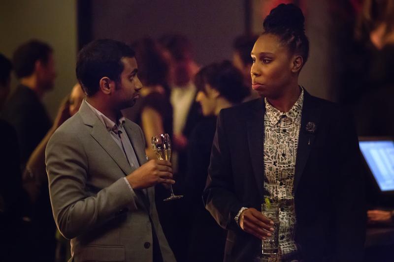 """Lena Waithe, Aziz Ansari in the Netflix original series """"Master of None""""."""
