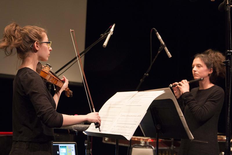 Marina Kifferstein and Natacha Diels perform Diels's 'A is for Alphabet'