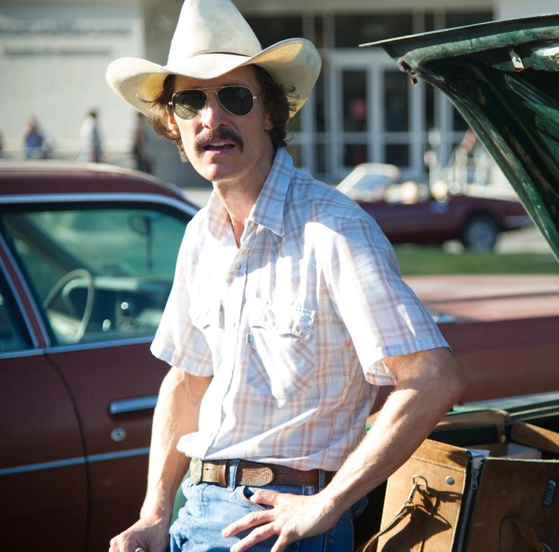 Matthew McConaughey as Ron Woodroof in <em>Dallas Buyers Club</em>