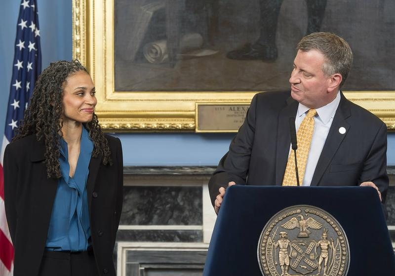 Mayor de Blasio announces Maya Wiley, his new Counsel to the Mayor