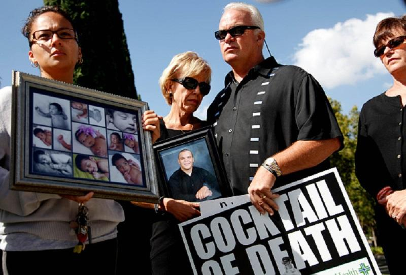 Families of victims of drug abuse, physician overprescribing and medical malpractice.