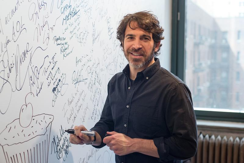 Filmmaker / Actor Chris Messina attends AOL BUILD Speaker Series: Chris Messina Discusses His Film 'Alex of Venice' at AOL Studios In New York on April 1, 2015 in New York City.