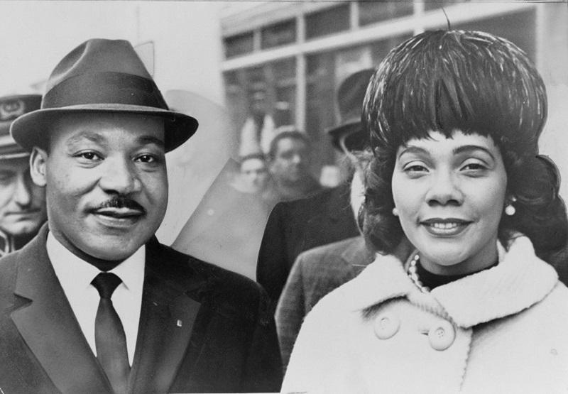 Martin Luther King, Jr. and his wife, Coretta Scott King.