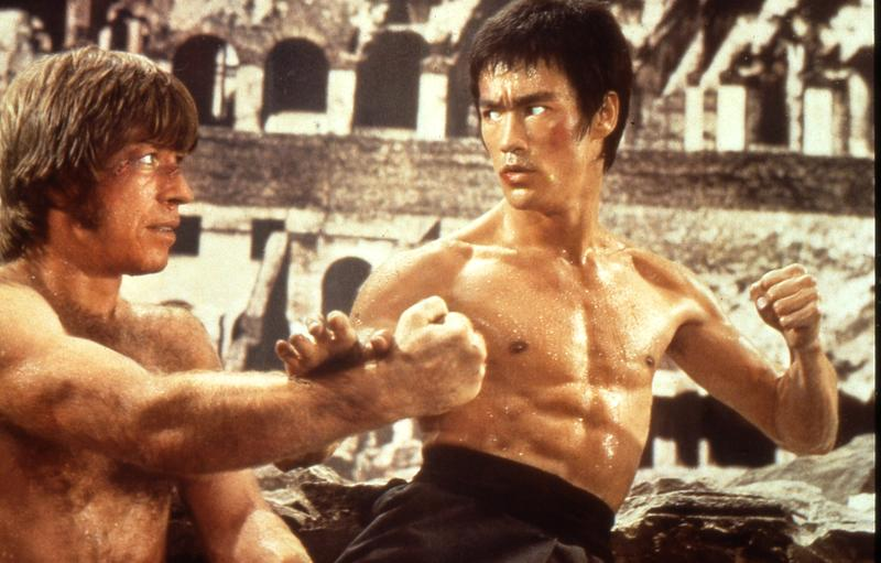 """Bruce Lee in """"The Way of the Dragon"""" (reprinted with permission from MoMA)."""