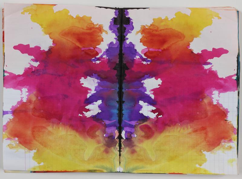 Sigmar Polke, Untitled (Rorschach) (Ohne Titel (Rorschach)) c. 1999