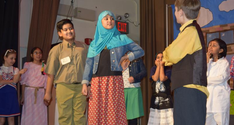 The cast of Sailiman and the Four Riddles