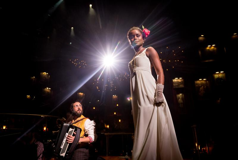 "Josh Groban and Denée Benton in ""Natasha, Pierre and the Great Comet of 1812"""
