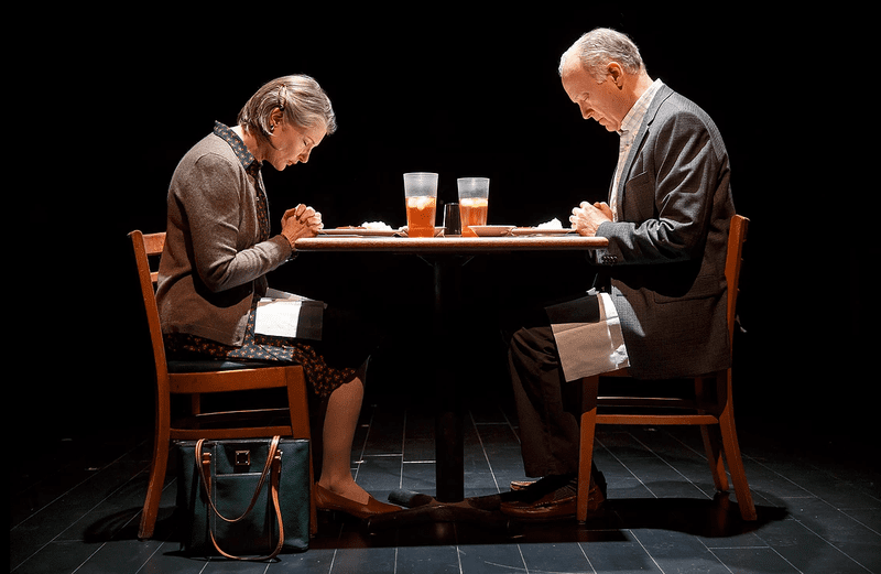 "Annette O'Toole and Reed Birney in ""Man from Nebraska"""
