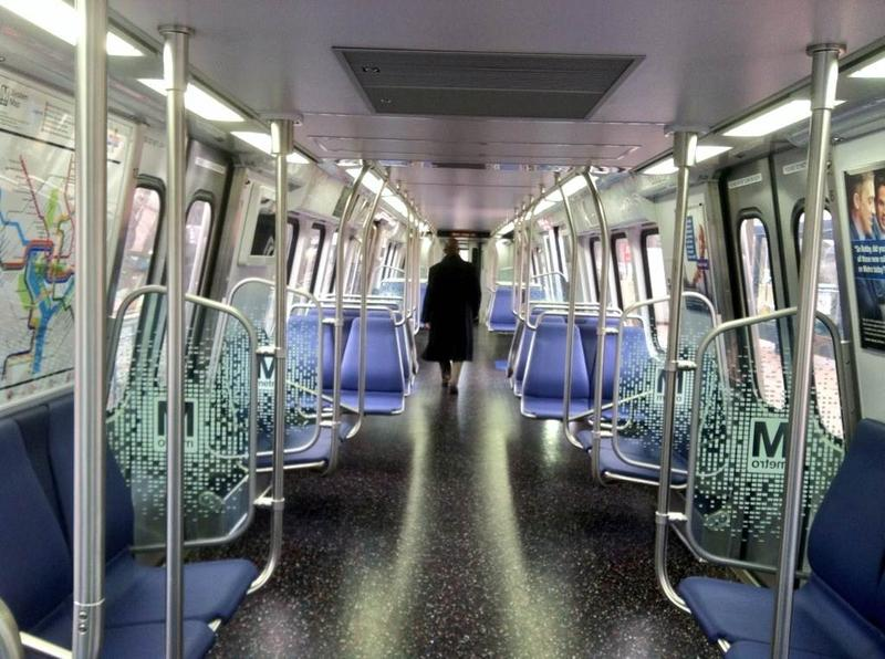 Metro's new 7000 series rail car