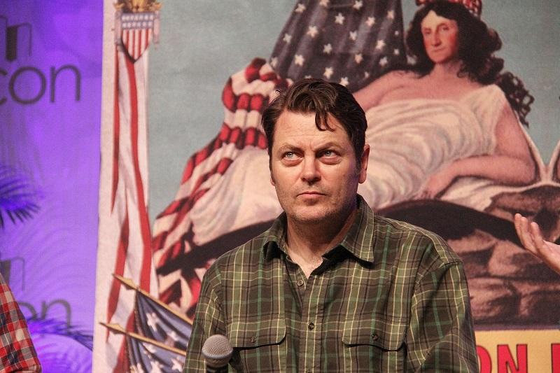 Nick Offerman attends BookCon 2015 at Javits Center on May 30, 2015 in New York City.