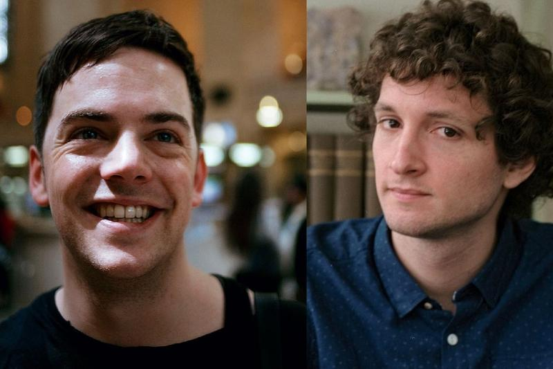 Nico Muhly (L) and Sam Amidon (R)