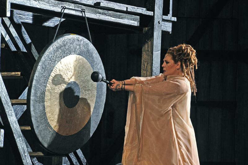 Soprano Sondra Radvanovsky stars in Bellini's 'Norma'  in a production from the Grand Liceu Theater in Barcelona.