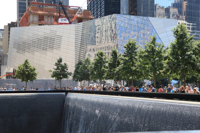 North Memorial Pool at the World Trade Center site