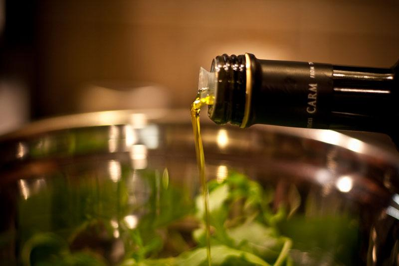 Save that extra virgin olive oil for salads and the like.