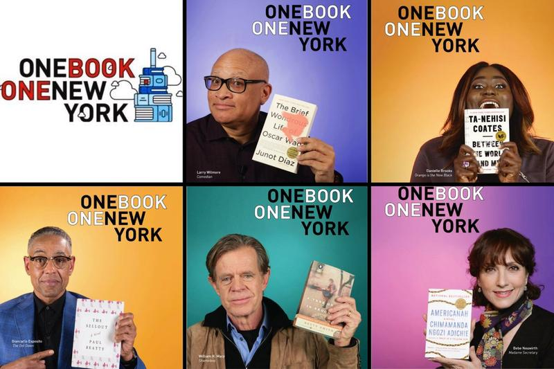 New Yorkers vote on one book to read at the same time for the City's One Book, One New York program.