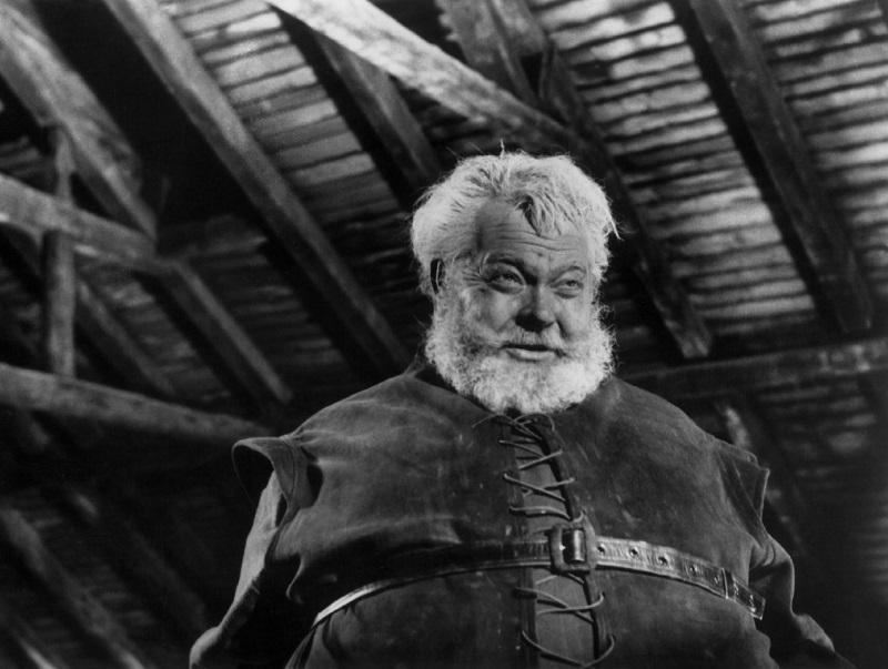 Orson Welles as Falstaff.