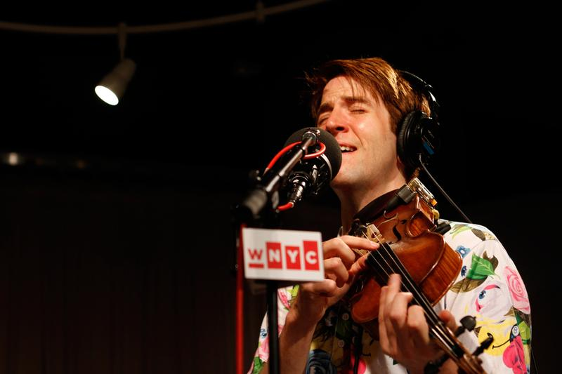 Owen Pallett performs in the Soundcheck studio.