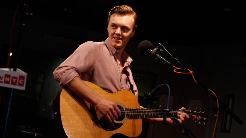 Parker Millsap performs in the Soundcheck studio.