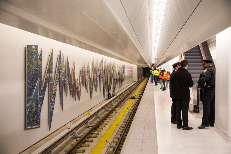 Port Authority Opens New NJ PATH Train Platform At World Trade Center