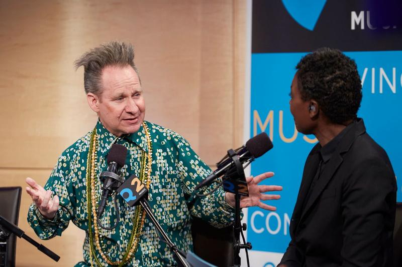 Peter Sellars joined host Helga Davis in The Greene Space on May 13, 2016
