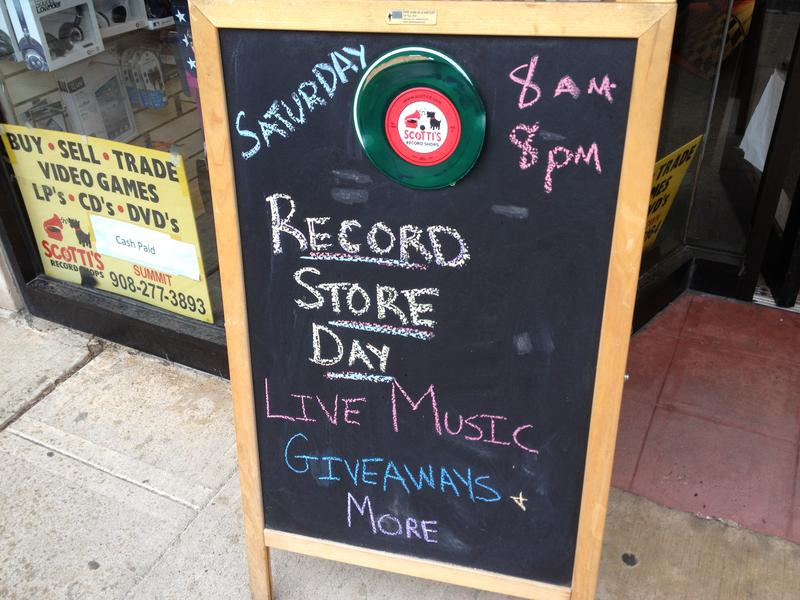 Ready for Record Store Day at Scotti's Record Shop in Summit, NJ