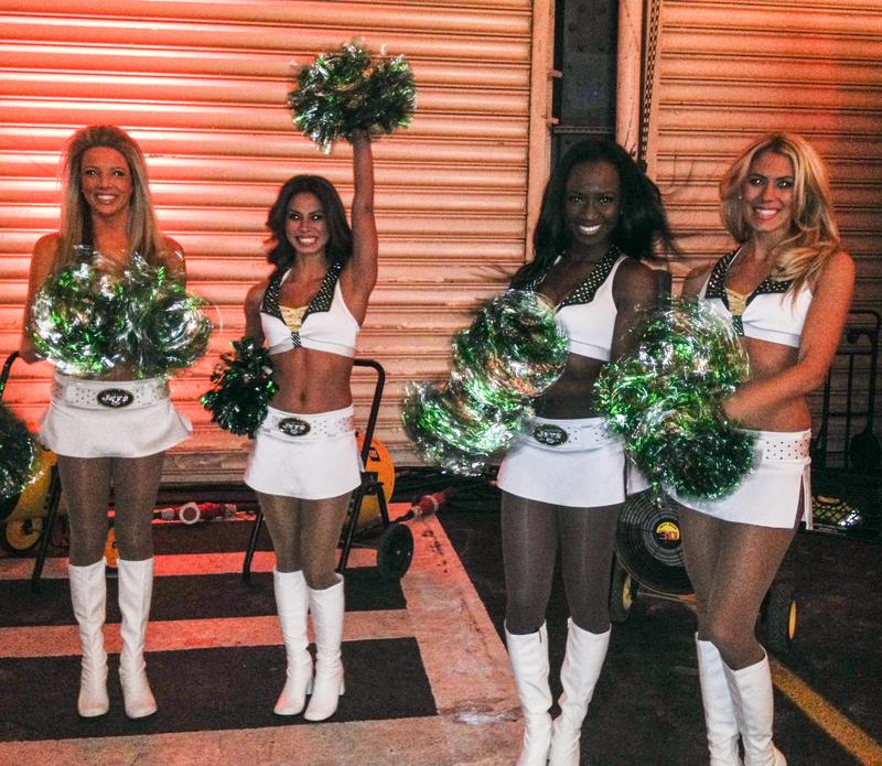 Jets Cheerleaders at Super Bowl Media Party 2014